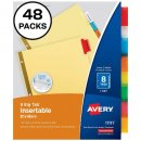 Avery 8-Tab Binder Dividers
