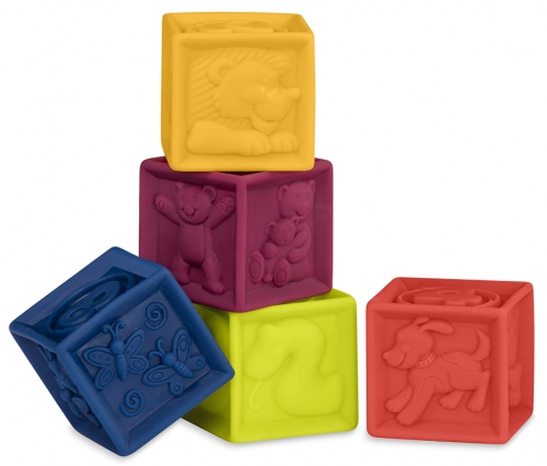 B. Toys One Two Squeeze Blocks