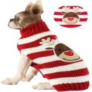 bobibi pet reindeer dog christmas sweater