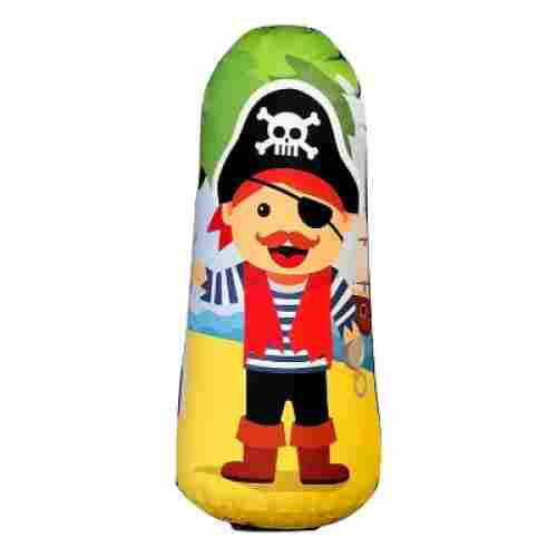 bonk fit high performance polyurethane punching bag for kids pirate