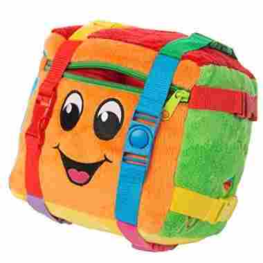BUCKLE TOY Activity Cube