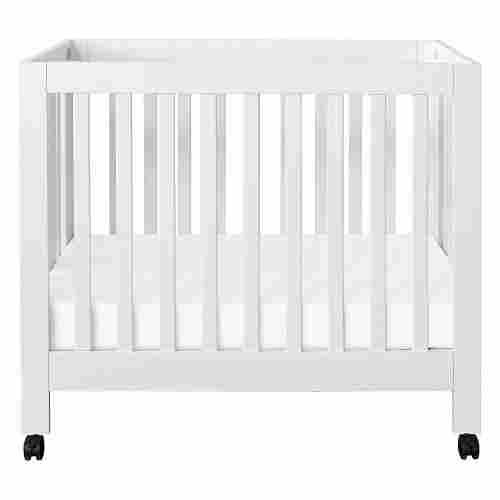 babyletto origami mini with wheels portable cribs display