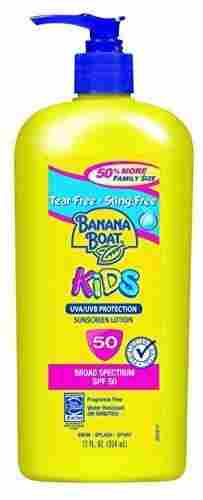 Banana Boat Kids Family Size Broad Spectrum Sun Care