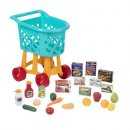 Battat Deluxe Toy Shopping Cart with Pretend Play Food Accessories