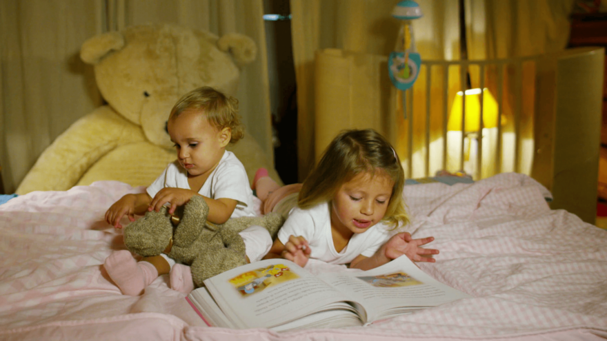 Read to find out how to create a bedtime routine.