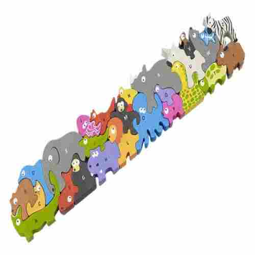 begin again animal parade A to Z wooden puzzles
