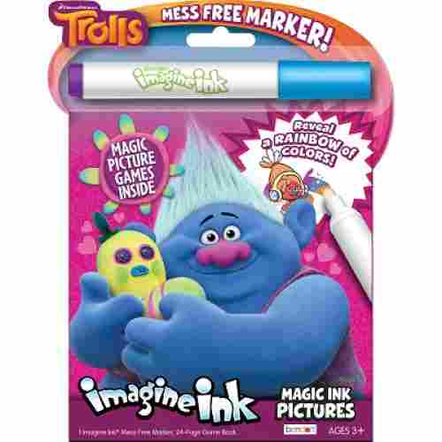 Benden Trolls Imagine Ink Magic Picture Coloring Book