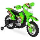 electric kids ride on electric dirt bike for kids green