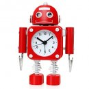 Betus Non-Ticking Robot Alarm Clock