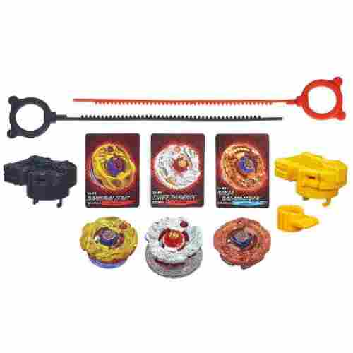 best beyblade Shogun Steel Fire Team Set