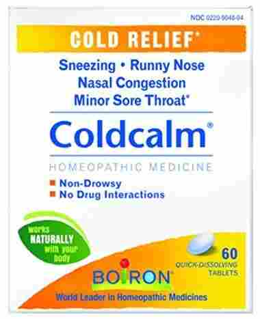 Boiron Coldcalm 60 Tablets