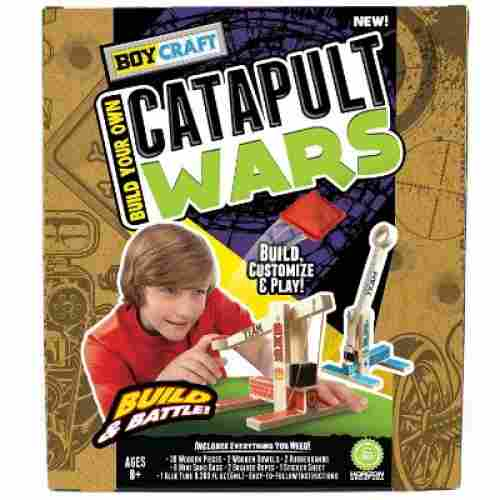 boy craft catapult wars toy for 8 year old boys