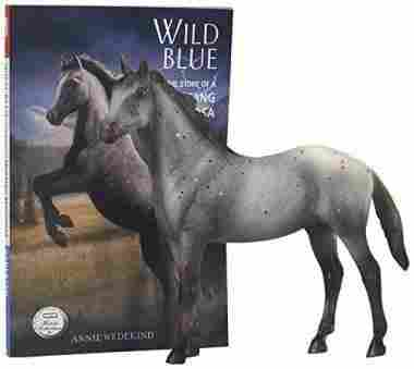 Blue Book and Horse Set