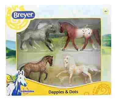 Breyer Dapples and Dots Horse Toy Model