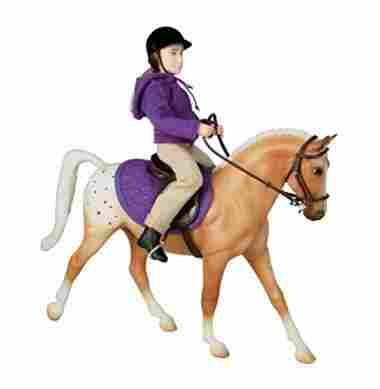 Breyer English Horse and Rider – Horse and Doll Set