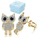 Buyless Fashion Surgical Owl Stud