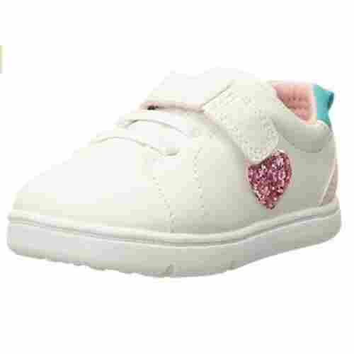 carter's every step baby walking shoe white