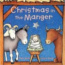 christmas in the manger christmas book cover