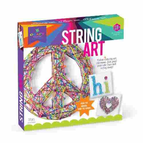 Craft-tastic String Peace Sign