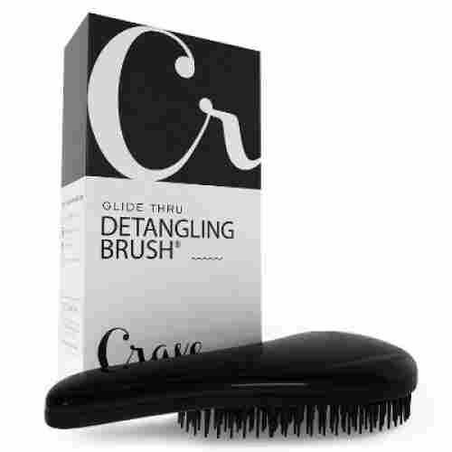 Glide Thru Detangling Brush by Crave Naturals