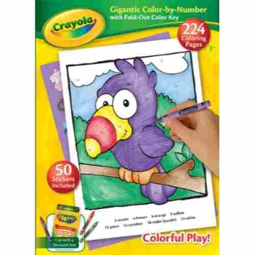 Crayola Gigantic Color-by-Number