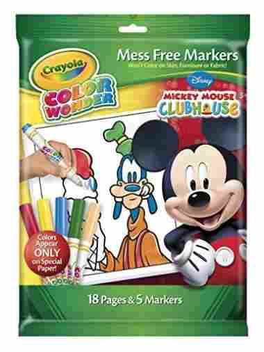 Crayola CW Overwrap Mickey Mouse Toy