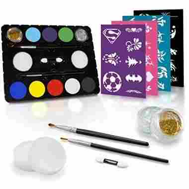 Face Painting Set, Black Tie Edition by Create A Face
