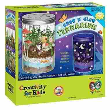Grow 'n Glow Terrarium by Creativity for Kids