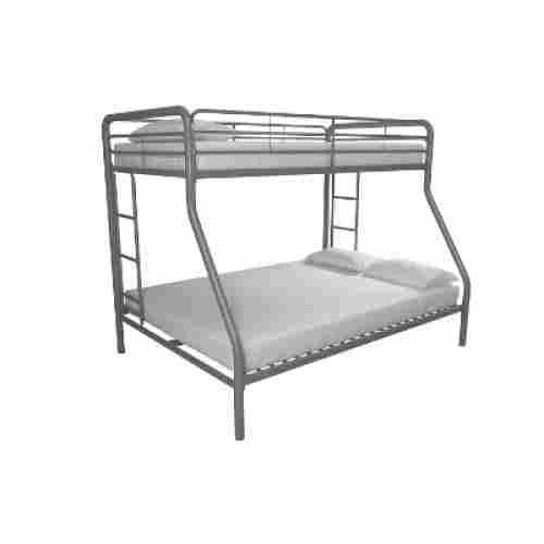 DHP twin-over-full metal frame bunk and loft bed for kids