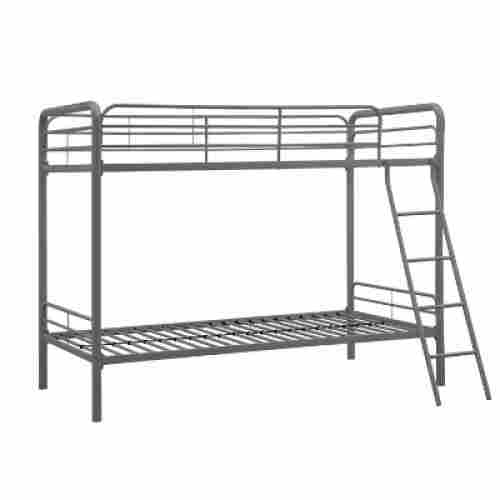 DHP twin-over-twin metal bunk and loft beds for kids
