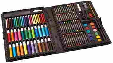 Darice 120-Piece Deluxe Art Set