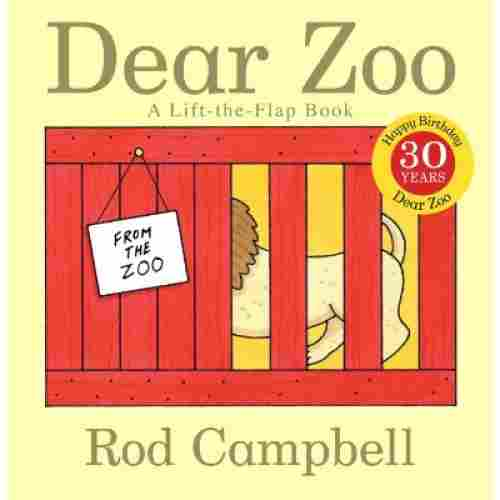 dear zoo lift the flap books for 2 year olds cover