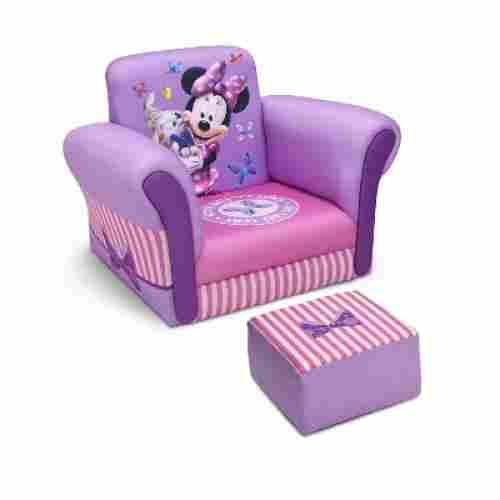 Minnie Mouse with Ottoman