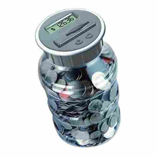 Digital Coin Savings Jar by DE