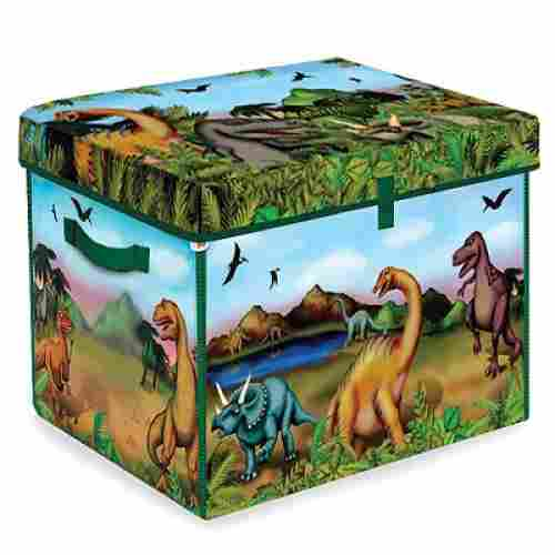 zipBin 160 collector dinosaur toys for kids box