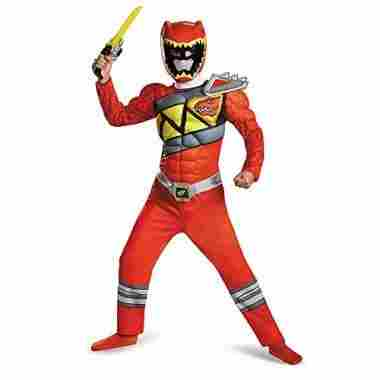 Disguise Red Ranger Dino
