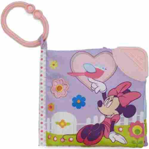 Disney Baby On the Go Soft Teether Book