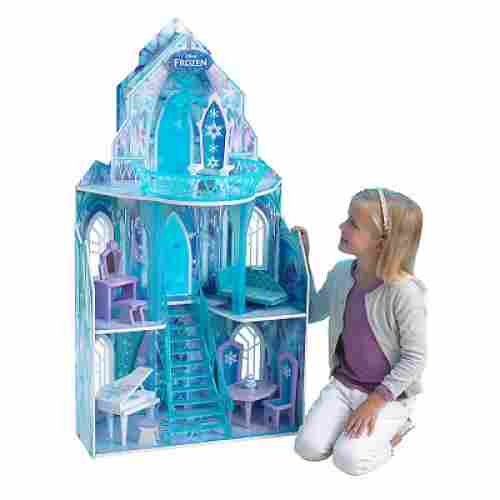 disney frozen ice castle dollhouse design