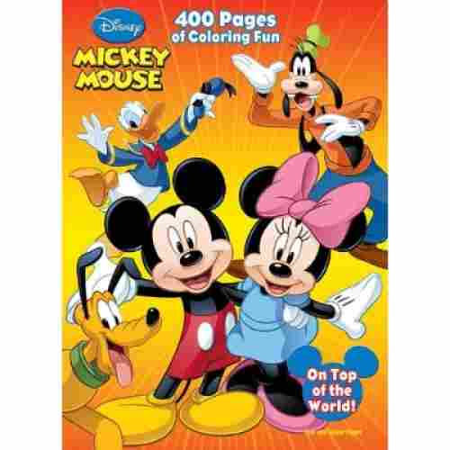Disney Mickey Mouse 400 Pages