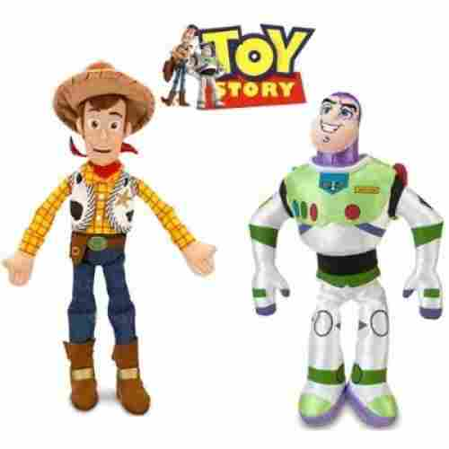 Woody and Buzz Lightyear Plush