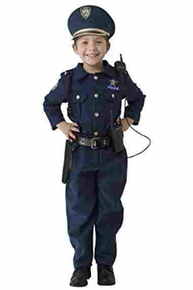 Deluxe Police Dress Up Costume Set