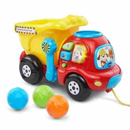 drop & go dump truck car toy
