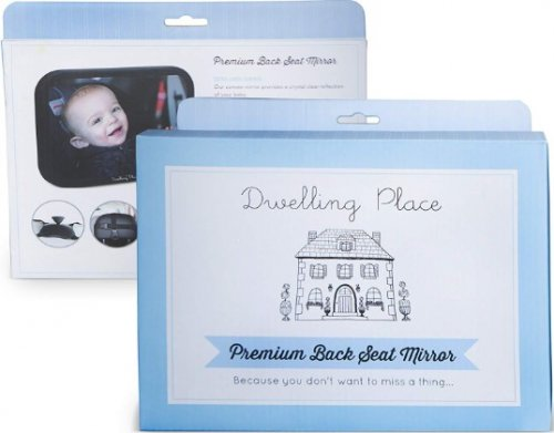 dwelling place baby car mirror package