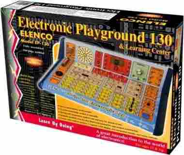 130-in-1 Electronic Playground and Learning Center by Elenco
