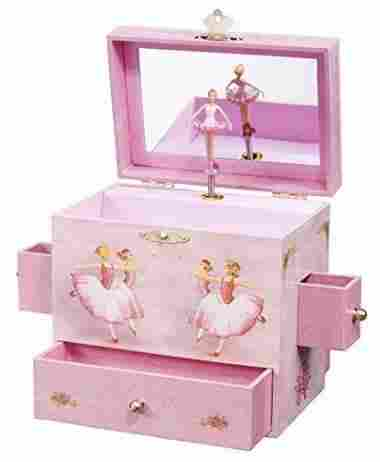 Ballerina Musical Jewelry Box by Enchantmints