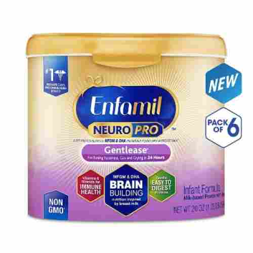 enfamil neuroPro gentlease baby formula pack of 6