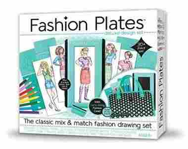Fashion Plates Deluxe Kit by Kahootz