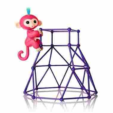 Jungle Gym Playset + Baby Monkey Aimee