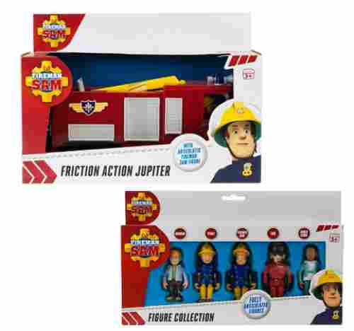 Fire Engine Jupiter & 5 Figures