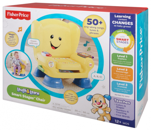 Fisher-Price Laugh and Learn Smart Chair